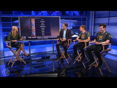 Fnatic Caps' Mid Lane Power Rankings - EU LCS Post-Game Lobby