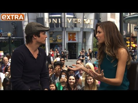 Ian Somerhalder on 'Vampire Diaries,' People's Most Beautiful, and Climate Change