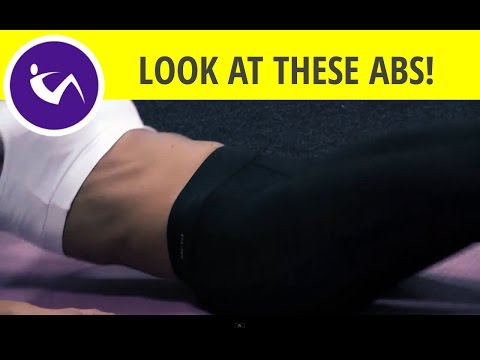 Exercise for lower stomach: jackknife sit ups for beginners