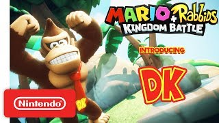 Mario + Rabbids Kingdom Battle: Donkey Kong Reveal Trailer - Nintendo Switch