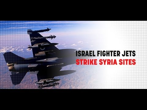 Israel : The IDF launches Air Strikes against Syrian Military in the Golan Heights  (Jun 23, 2014)