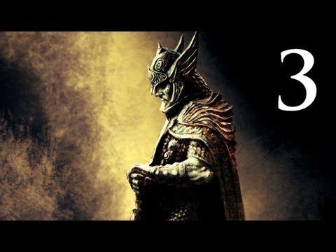 Elder Scrolls V: Skyrim - Walkthrough - Part 3 - The Warrior Stone (Skyrim Gameplay)