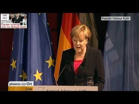 Helmut Kohl & Angela Merkel (2012) Festakt der Konrad-Adenauer-Stiftung