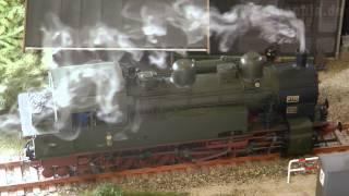 Dampflok Paradies als Spur 0 Modelleisenbahn