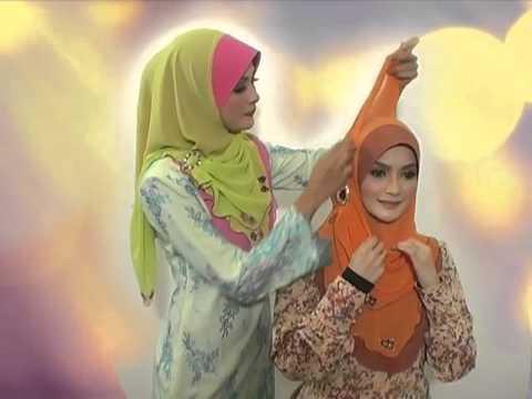 "Saksikan 5 cara-cara pemakaian tudung ""Fareeda Khadeeja"". - YouTube"