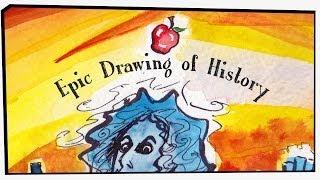 Newton vs Nye Epic Rap Battles of History fan art