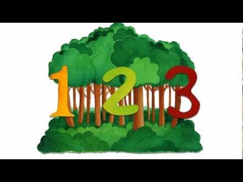 123 nous irons au bois - Comptine