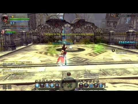 Dragon Nest SEA - Paladin / Crusader build - Manticore Nest RUN [7:55