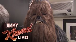 Jimmy Kimmel: Harrison Ford Chews Out Chewy