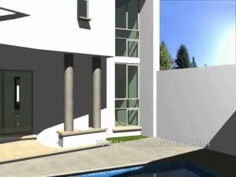 Dise os de casa moderna 3d incluye planos de casas for Planos de casas 3d