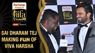 IIFA Utsavam: Sai Dharam Tej making fun of Viva Harsha