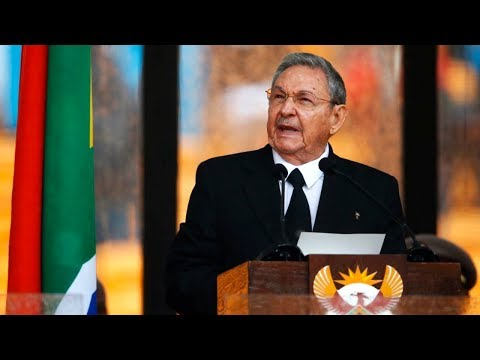Cuban President Raúl Castro Speaks at Nelson Mandela's Memorial