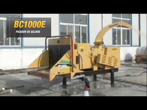Picador de galhos (árvores) elétrico estacionário com motor trifásico de 77HP  BC1000E Vermeer