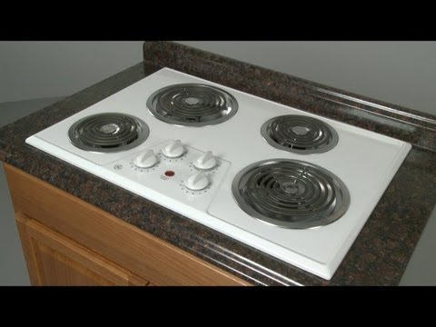 GE Electric Cooktop Disassembly - Cooktop Repair Help - YouTube