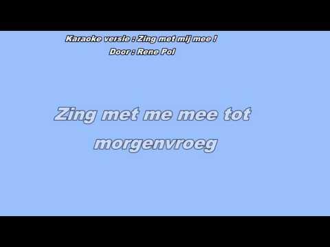 Zing met mij mee karaoke