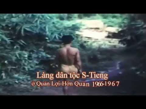 Làng dân tộc Stieng ở Quản Lợi , Hớn Quản 1966 -1967