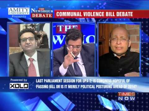 The Newshour Debate: Communal violence bill debate - Part 2 (5th Dec 2013)