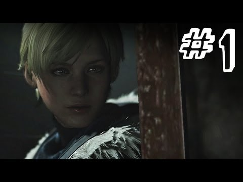 Resident Evil 6 Gameplay Walkthrough Part 1 - STRANGERS - Jake / Sherry Campaign Chapter 1 (RE6)