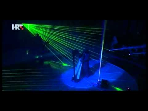 Laser Harp on TV