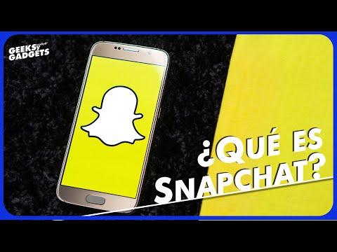 Te decimos qué es Snapchat y cómo funciona