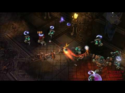 Игровой видеоролик с демонстрацией класса Vanquisher