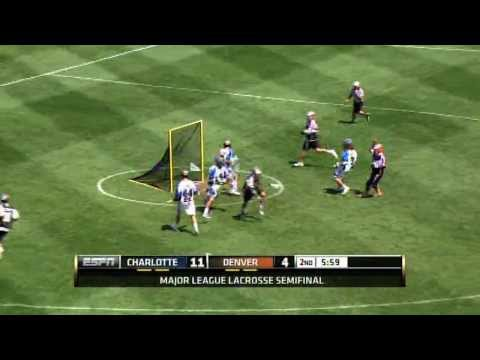 2013 MLL Semi-Final #1 Highlights: Charlotte vs Denver
