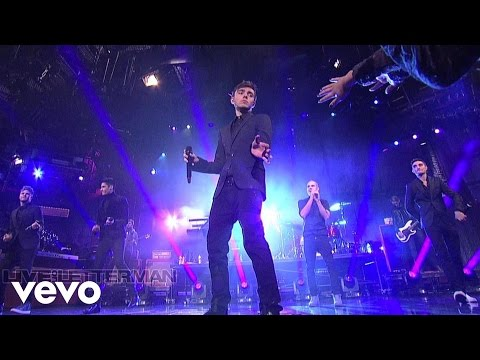 The Wanted - I Found You (Live on Letterman)