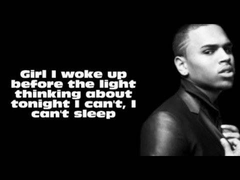Chris brown wet lyrics