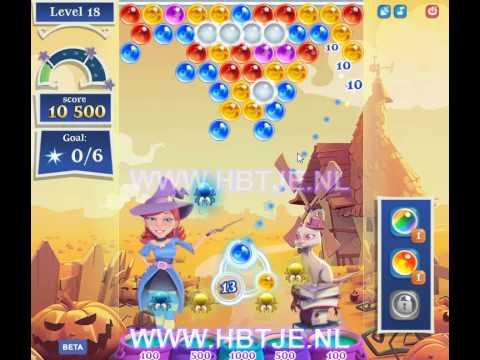 Bubble Witch Saga 2 level 18