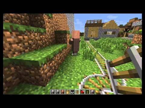 Minecraft Tutorial: Capture and Breed Villagers