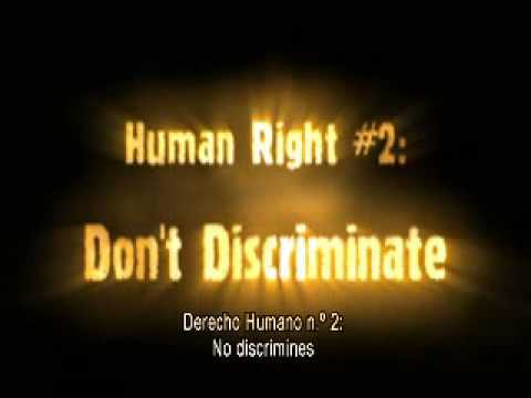 Youth for Human Rights 02, Subtitulado