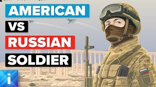 American Soldier (USA) vs Russian Soldier - Army / Military Comparison