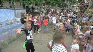 Праздничную программу, посвящённую Дню города, подготовили и провели жители ТУ «Угловое».