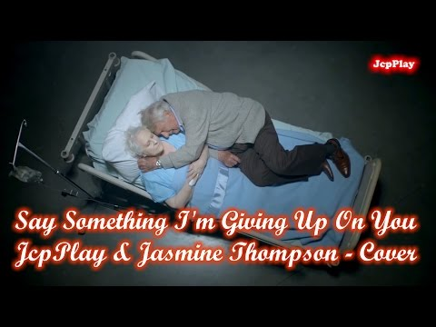 Say Something I'm Giving Up On You - JcpPlay & Jasmine Thompson - Cover
