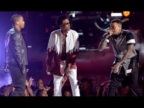 BET AWARDS: AUGUST ALSINA, TREY SONGZ AND CHRIS BROWN PERFORMANCE [HD]