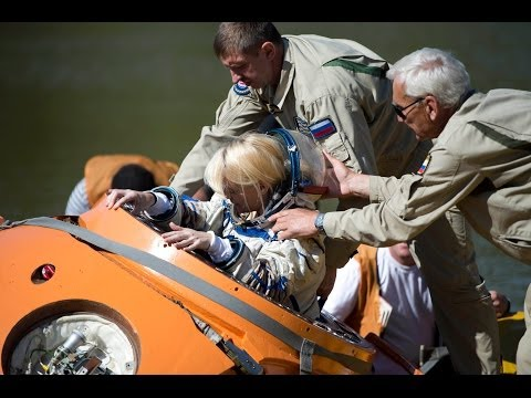 Cosmonauts Training to Land in Water