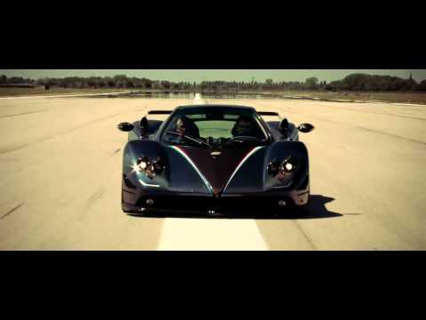 All New Pagani Zonda Tricolore