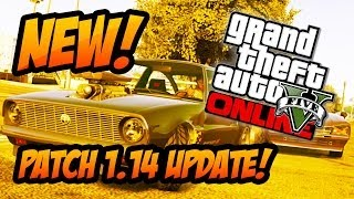 """GTA 5 Online NEW Cars & Weapons! Patch 1.14 """"I'm Not A"""