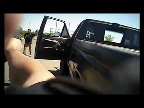 شرطة أمريكا تقتل شابا أعزل