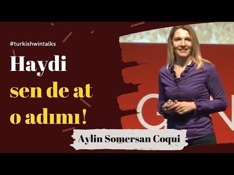 Aylin Somersan Coqui | Haydi sen de at o adımı!