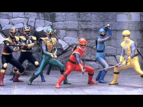 Power Rangers Ninja Storm Theme Tune Lyrics - Power ...