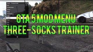 GTA 5 Three-Socks Trainer Mod Menu PS3! (GTA 5 Mod Menu