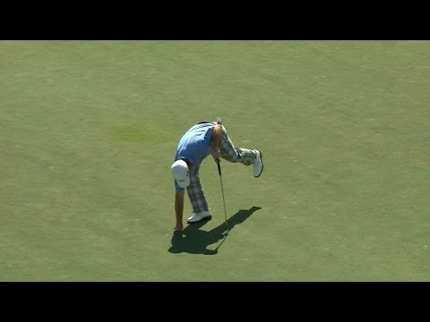 Graeme McDowell sinks great putt at The Honda Classic