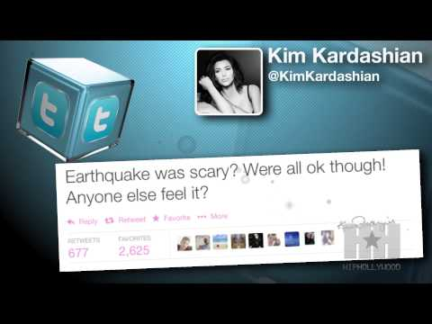 Celebrities Take To Twitter Following LA Earthquake