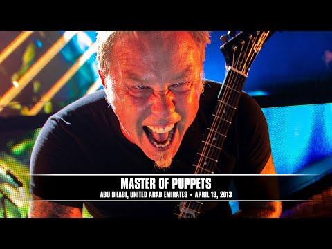 Metallica - Master of Puppets (Live - Abu Dhabi, UAE) - MetOnTour