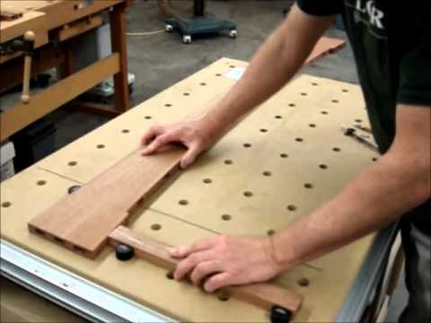 Curved joints with the Festool Domino 700