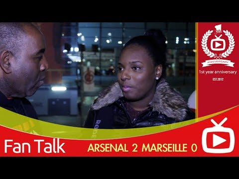 Arsenal FC 2 Marseille 0 - Ozil Redeemed Himself says Philippa CB - ArsenalFanTV.com