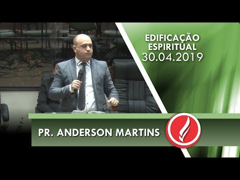 Pr. Anderson Martins | Saúde da alma | Sl 77.1-13 | 30 04 2019