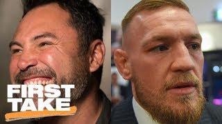 Stephen A. and Max agree Oscar De La Hoya would beat Conor McGregor | First Take | ESPN