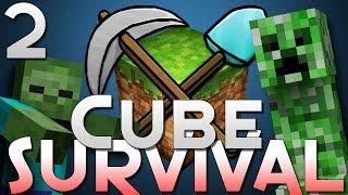 Minecraft: Cube Survival 2 - MOBS GALORE!